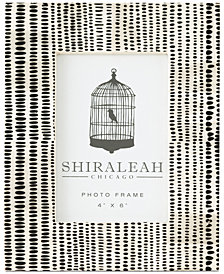 Shiraleah Loft Hand Painted 4'' x 6'' Picture Frame