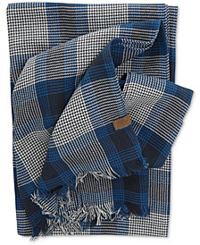 Original Penguin Men's Over-Sized Reversible Woven Scarf