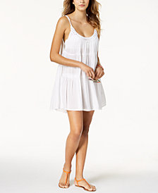 Raviya Crochet Neckline Dress Cover-Up