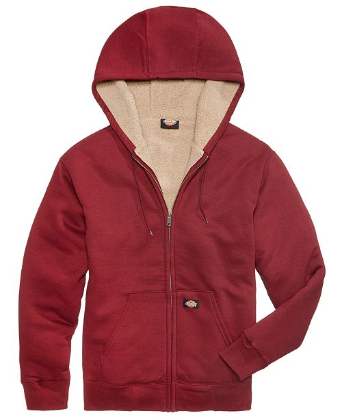 a3e958ba8 Dickies Men's Sherpa-Lined Full-Zip Hoodie & Reviews - Hoodies ...
