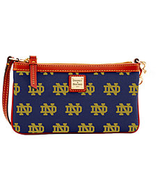 Dooney & Bourke Notre Dame Fighting Irish Large Wristlet