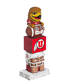 Evergreen Enterprises Utah Utes Tiki Totem