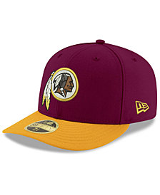 New Era Washington Redskins Team Basic Low Profile 59FIFTY Fitted Cap