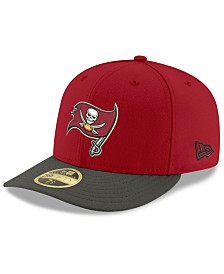 New Era Tampa Bay Buccaneers Team Basic Low Profile 59FIFTY Fitted Cap