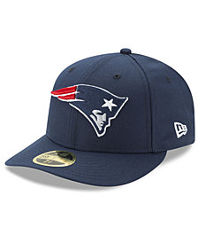 New Era New England Patriots Team Basic Low Profile 59FIFTY Fitted Cap