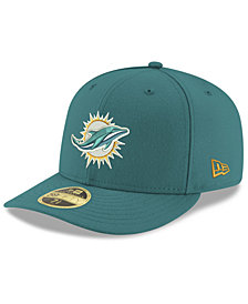 New Era Miami Dolphins Team Basic Low Profile 59FIFTY Fitted Cap