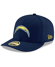 New Era Los Angeles Chargers Team Basic Low Profile 59FIFTY Fitted Cap