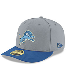 New Era Detroit Lions Team Basic Low Profile 59FIFTY Fitted Cap