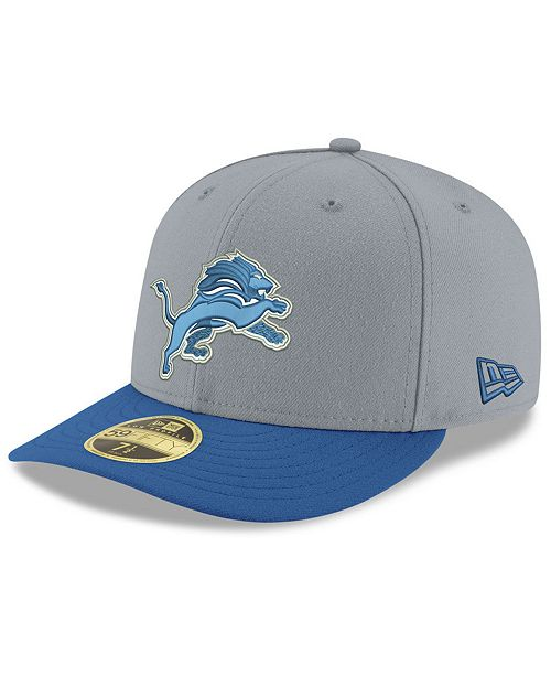 4742c0d2 Detroit Lions Team Basic Low Profile 59FIFTY Fitted Cap