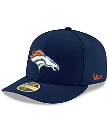 New Era Denver Broncos Team Basic Low Profile 59FIFTY Fitted Cap