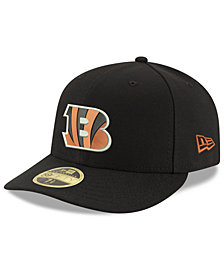 New Era Cincinnati Bengals Team Basic Low Profile 59FIFTY Fitted Cap