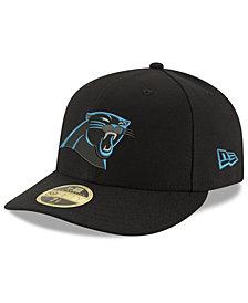 New Era Carolina Panthers Team Basic Low Profile 59FIFTY Fitted Cap