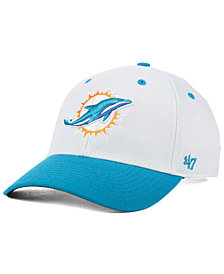 '47 Brand Miami Dolphins Kickoff 2-Tone Contender Cap