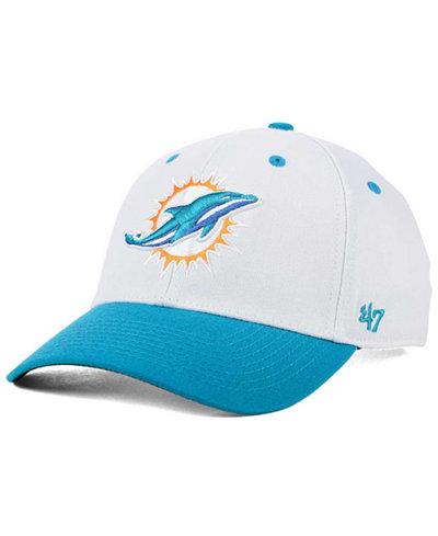 '47 Brand Miami Dolphins Kickoff 2-Tone Contender Cap