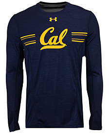 Under Armour Men's California Golden Bears Sideline Training Long Sleeve T-Shirt
