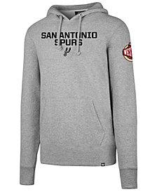 '47 Brand Men's San Antonio Spurs Double Double Pullover Hoodie