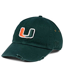 Top of the World Miami Hurricanes Rugged Relaxed Cap