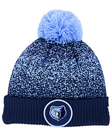 New Era Memphis Grizzlies On-Court Collection Pom Knit Hat