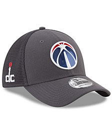 New Era Washington Wizards On Court Graph 39THIRTY Cap