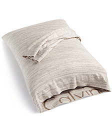Calvin Klein Modern Cotton Print King Pillowcases, Set of 2