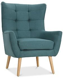 Neilan Club Chair, Quick Ship