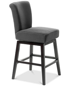 Grantz Swivel Counter Stool, Quick Ship