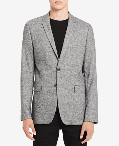 Calvin Klein Men's Solid Grindle Jacket
