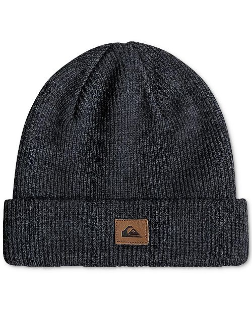 7fe940e3a9eab Quiksilver Men s Performed Ribbed-Knit Beanie   Reviews - Hats ...