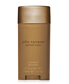 John Varvatos Men's Artisan Acqua Deodorant, 2.6 oz.