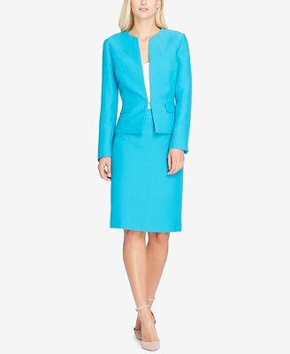 Tahari Asl Peplum Skirt Suit Wear To Work Women Macy S