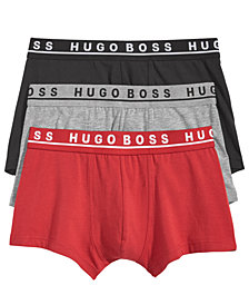 Hugo Boss Men's 3-Pk. Cotton Stretch Trunks