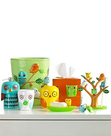 Creative Bath Accessories, Give a Hoot Collection