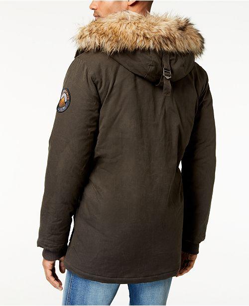 big sale 75622 839e7 Superdry Men's Everest Dual-Layer Waxed Parka & Reviews ...