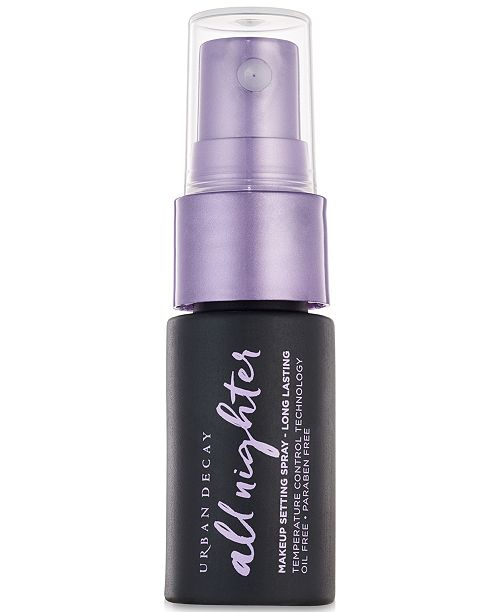 Urban Decay Receive a Free Trial-Size All Nighter Setting Spray with any $40 Urban Decay purchase
