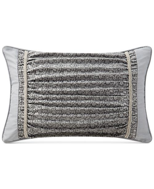 "Waterford  CLOSEOUT! Ryan 12"" x 18"" Decorative Pillow"