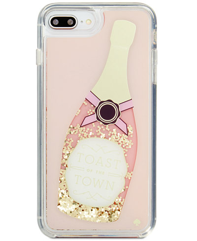 Kate Spade New York Champagne Glitter IPhone 8 Plus Case