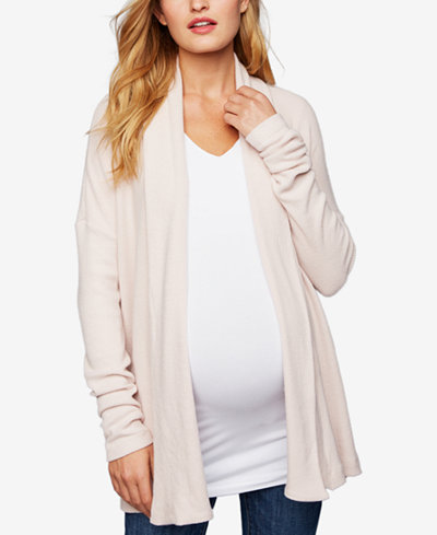 A Pea In The Pod Maternity Open-Front Cardigan