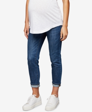 Image of A Pea in the Pod Maternity Boyfriend Jeans