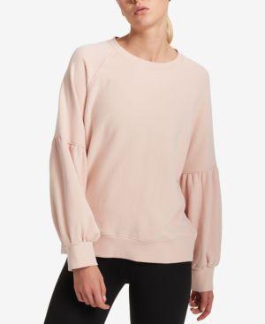 Dkny Sport Cotton Balloon-Sleeve Sweatshirt
