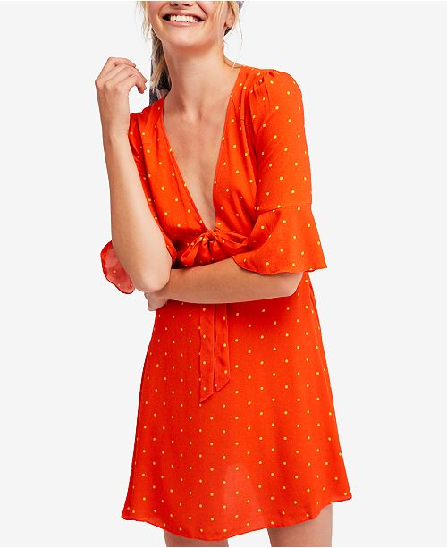 40c9a9131daf3 Free People All Yours A-line Mini Dress & Reviews - Dresses - Juniors ...