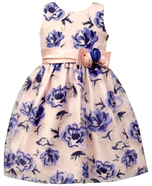 Jayne Copeland Floral Burnout Ball Gown Little Girls (46X)