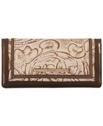 Brahmin Ady Rose Gold Bourdelle Wallet