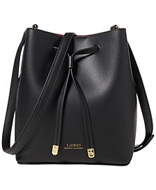 Dryden Debby II Mini Leather Drawstring Bag