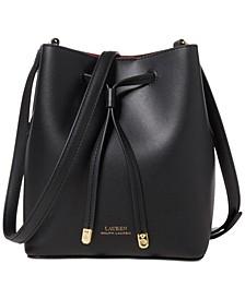 Dryden Debby II Mini Leather Drawstring Bag