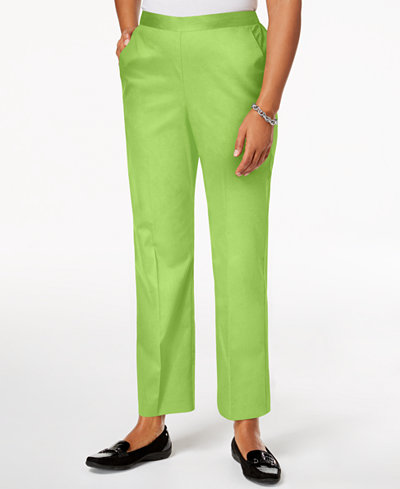Alfred Dunner In The Limelight Pull-On Straight-Leg Pants