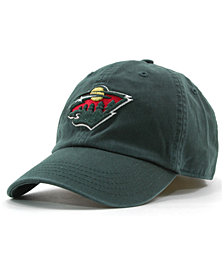 '47 Brand Boys' Minnesota Wild CLEAN UP Cap