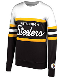 Mitchell & Ness Men's Pittsburgh Steelers Head Coach Crew Sweatshirt