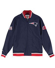 Mitchell & Ness Men's New England Patriots Team History Warm Up Jacket
