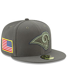 New Era Los Angeles Rams Salute To Service 59FIFTY Fitted Cap