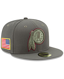 New Era Washington Redskins Salute To Service 59FIFTY Fitted Cap